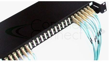 LC 96 fibre 1U patch panel