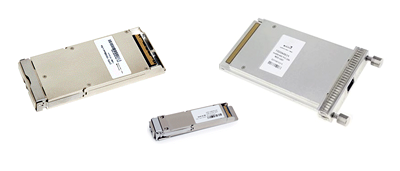 100G CFP+ & QSFP28 Transceiver and Cable Montage
