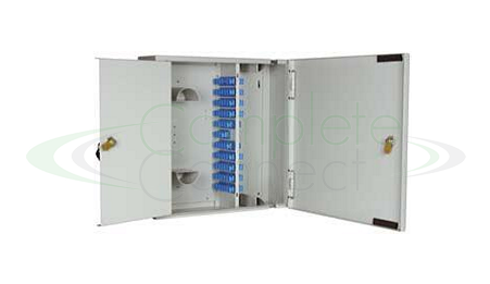 Double Door Fibre breakout box 196 fibres