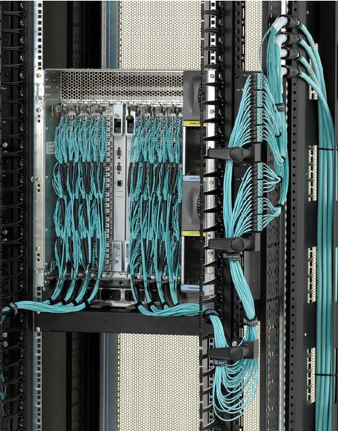 Brocade switch fibre cabling