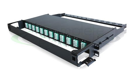96 fibres MTP - LC 1U patch panel