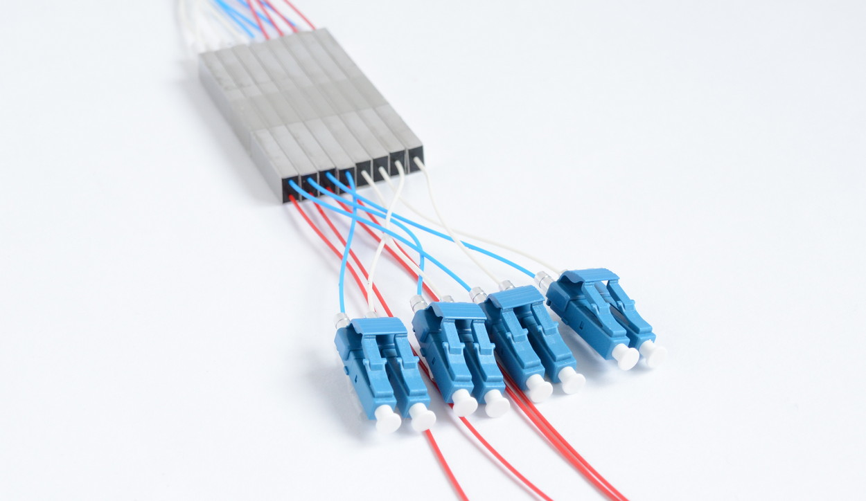 LC Duplex Connected to Splitter